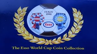 Italy 1990 The Esso World Cup Coin Collection Complete