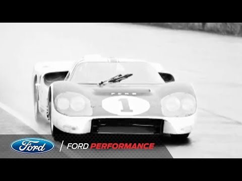 Ford Wins 24 Hours of Le Mans Against Ferrari | Ford Performance History | Ford Performance