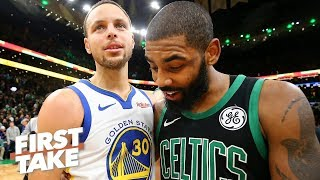 Kyrie Irving is a better clutch player than Steph Curry – Max Kellerman | First Take