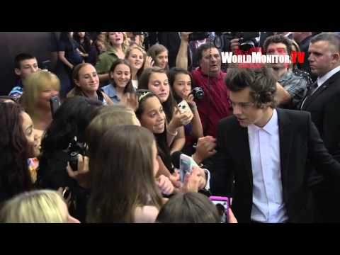 'One Direction: This is Us' New York Film Premiere Arrivals and Interviews