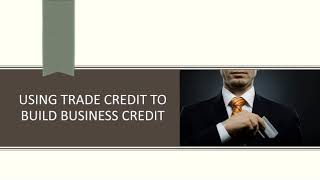 what is the meaning of trade credit - what is the meaning of trade credit?