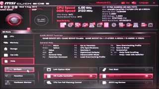 Компанія MSI Z170A ігровий М5 БІОС огляд