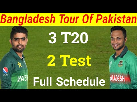 Bangladesh Tour Of Pakistan 2020 | Pak Vs Ban Test & T20 Series Full Schedule