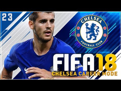 FIFA 18 Chelsea Career Mode S2 Ep23 - MORATA BACK WITH A BANG!!