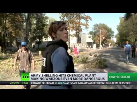 Kiev shelling devastates Kalininski as rallies spark against govt inaction