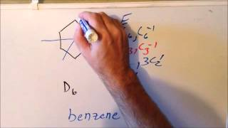 Symmetry: episode 106, part 3  (benzene-related molecules)