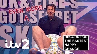 Celebrity Juice | Jonathan Ross's Nappy Changing Record Attempt | ITV2