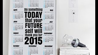 Budgeting Tools Part 2: My Desk and Purse Calendars