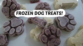 FROZEN DOG TREATS!