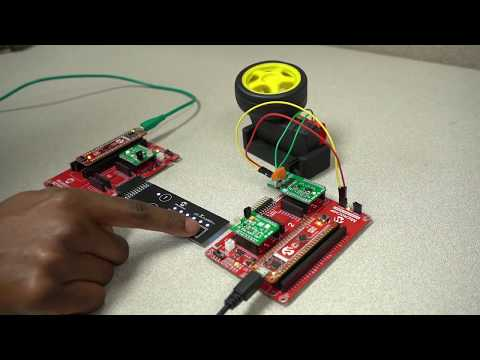 Introduction To Infrared (IR) Communications And Capacitive Touch On A PIC® Microcontroller