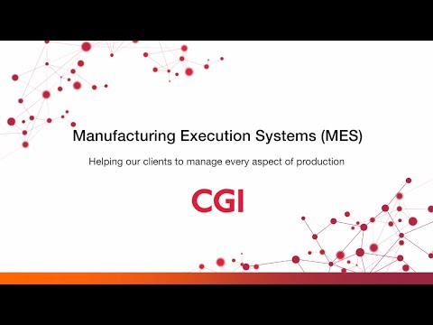 Manufacturing Execution Systems (MES) | CGI Nederland