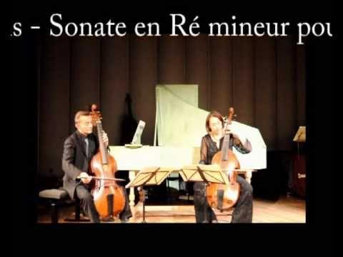 Marin Marais Allemande Suite en ré mineur deux violes et basse