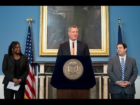 Mayor Bill de Blasio Appoints Two Native New Yorkers to Key Posts