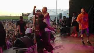 CROWN OF THORNZ  LIVE @ IEPER FEST 2012