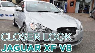 Closer Look: Jaguar XF Premium Luxury V8 Auto