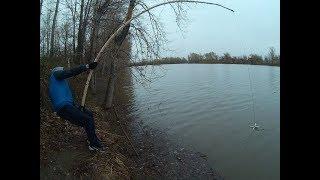 Рыбалка на Оби осень 2010 г. Щука