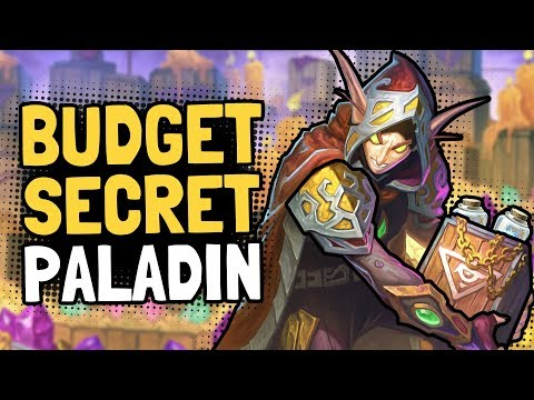 Budget Secret Mech Paladin - Hearthstone