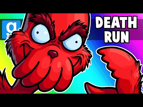 Gmod Death Run Funny Moments - Watch Out for the Grinch's Hole!