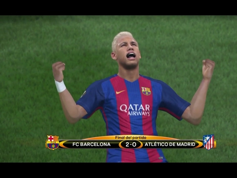 PES 2017 Uefa Europa League Barcelona Campeon ps4