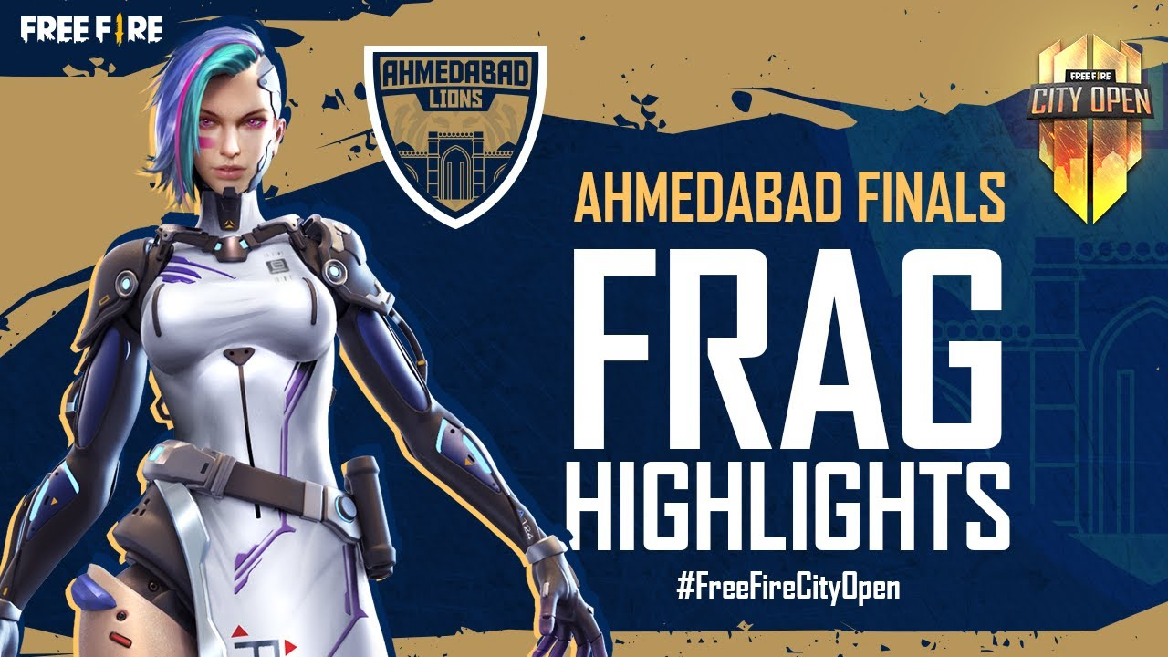 FFCO Ahmedabad Finals Frag Highlights   Free Fire City Open