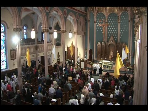 Catholics and Protestants celebrate Easter Sunday in Western Mass