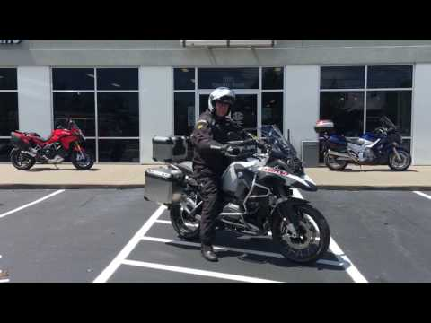 "Jay ""James Bond"" Gwaldis 2016 BMW R1200GSA GSAwesomeness Delivery at Frontline Eurosports with Nate"