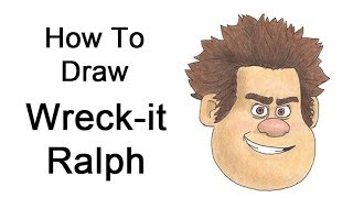 How to Draw Wreck-it Ralph