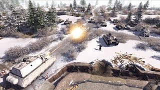 1946 STRONGHOLD DEFENSE, German Submarine Base Defends | Men of War: Assault Squad 2 Gameplay