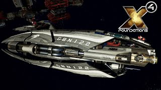 Gambar cover HUGE FIND AND COMBAT UPGRADE - Split Vendetta Gameplay - X4: Foundations Part 7