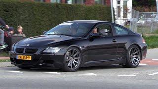 BMW M6 V10 with STRAIGHT PIPE Akrapovic Exhaust!! INSANE V10 SOUNDS!