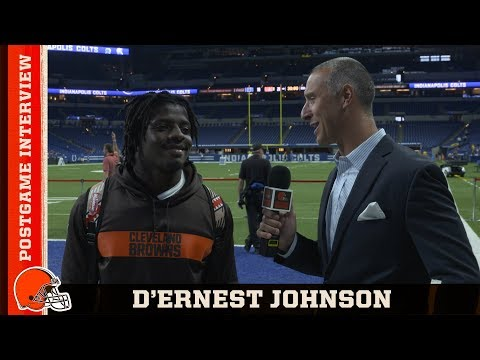 D'Ernest Johnson Finding Success in Rushing, Receiving & Special Teams | Cleveland Browns