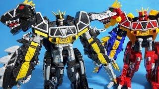 파워레인저 다이노포스 블랙 티라노킹 다크버전 오픈박스 또봇 x 장난감 black dark dino charge kyoryuger dinosaurs