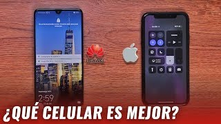iPhone XR vs Huawei Mate 20: comparativa a profundidad