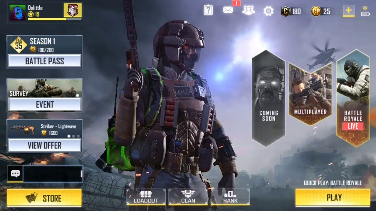 How To Equip Bagpack Skin In Call Of Duty Mobile Hindi Youtube
