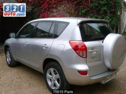 occasion toyota rav4 paris youtube. Black Bedroom Furniture Sets. Home Design Ideas