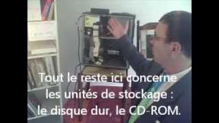 Les éléments d'un ordinateur ou PC : définitions et exemples