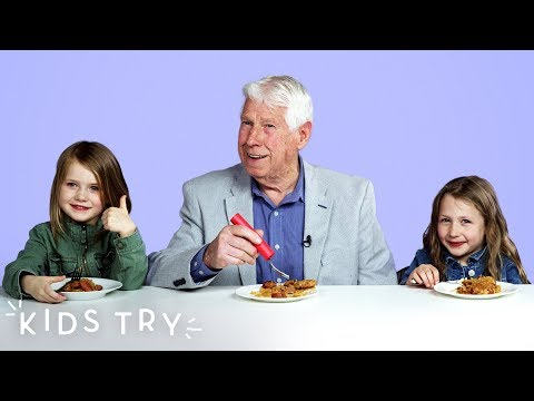 Kids Try Their Great Grandparents' Favorite Childhood Foods | Kids Try | HiHo Kids