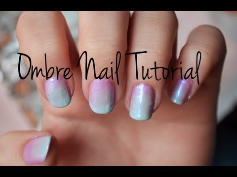 Diping ombre nails - how to do dipping ombre nails tutorial and ...