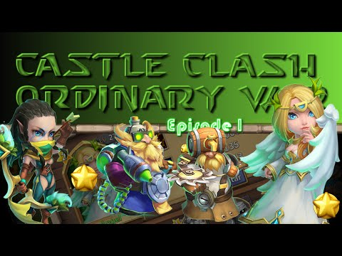 Castle Clash - How To Farm Honor Badges At Low Might : Ordinary War Part 1