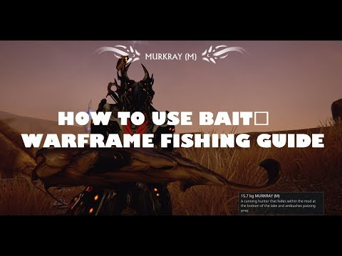 How To Use Bait (How To Catch Rare Fish) In Warframe   Plains Of Eidolon Fishing Guide