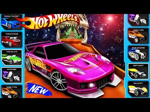 Hot Wheels - Sports Car | Hot Wheels - NEW Track, NEW Racer | Video For Children, Videos for Kids
