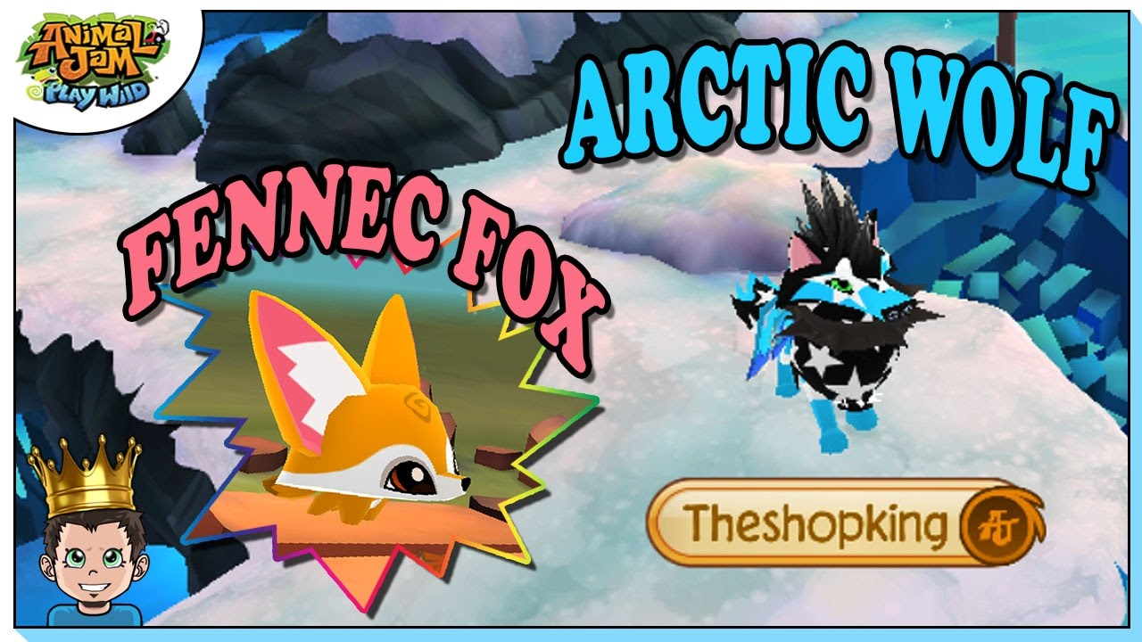 GETTING ARCTIC WOLF & FENNEC FOX ON ANIMAL JAM PLAY WILD ...