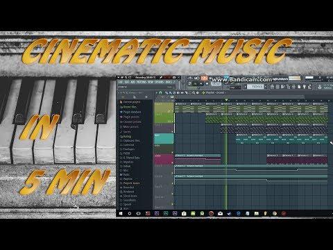 COMPOSE CINEMATIC MUSIC FOR SHORT-FILMS IN 5 MIN (FL STUDIO)