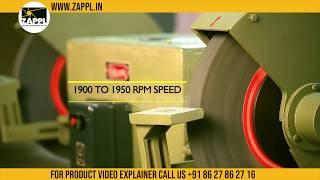 Pedestal Grinder Manufacturer   Rajlaxmi Grinding Machine by zappl