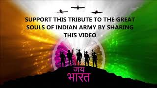 TRIBUTE TO INDIAN ARMY || PULWAMA  ATTACK 2019 || HINDI RAP SONG ||