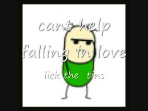 Lick The Tins Can't Help Falling In Love