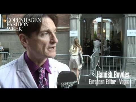 Hamish Bowles, European Editor, Vogue  - Interview SS12