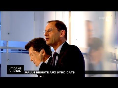 France 5 - C dans l'air - Valls résiste aux syndicats - 16 juin 2014