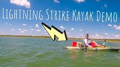 Lightning Strike Pedal Drive Kayak Demo and Review