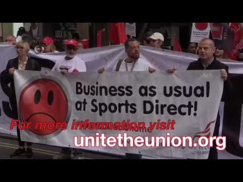 Sports Direct Day Of Action